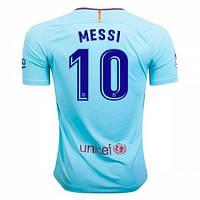 Футбольная форма Барселона Месси (Messi) 2017-2018 Гостевая
