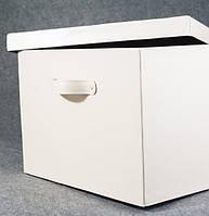 Коробка для хранения вещей, игрушек (кожа)