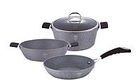 Набор посуды с антипригарным покрытием 4пр
