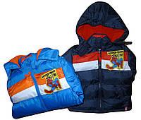 Куртка демисезонная для мальчика DISNEY 3-8 лет оптом № РН-1057