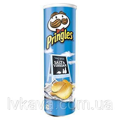 Чипсы  Pringles Salt & Vinegar, 165 гр, фото 2