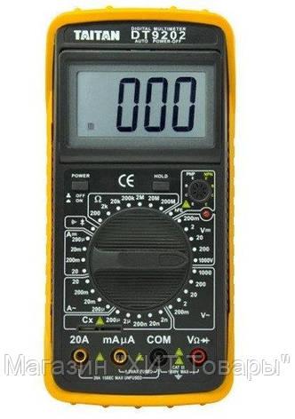 Мультиметр DT 9202,Мультиметр для измерения тока, напряжения!Акция, фото 2