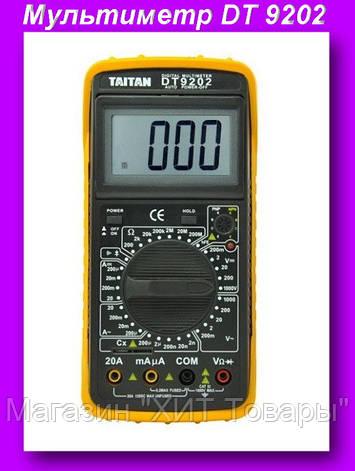 Мультиметр DT 9202,Мультиметр для измерения тока, напряжения!Опт, фото 2
