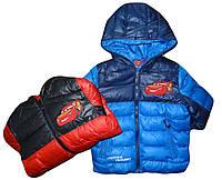 Куртка утепленная для мальчика DISNEY 3-8 лет оптом № 75663