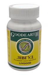 Ливгуд - нормализует роботу и белковосинтетическую функцию печени (60 капсул), Goodcare