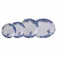 """Сервиз столовый стекло 19 предметов  """"Luminarc.Arcopal Aliya blue"""" 60930 / L7785"""