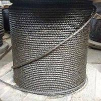 Канат (трос) стальной диаметр 13,5 мм ГОСТ  7668-80 от ГОСТ МЕТАЛЛ