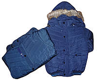 Куртка утепленная для мальчика Nature 8-16 лет оптом № G-25