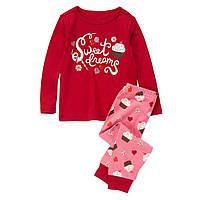Детская пижама для девочки 12-18 месяцев