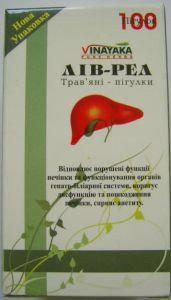 Лив-Рел - гепатопротектор (Livrel) 60 таб - Vinayaka, фото 2