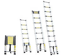 Лестница телескопическая  8ступенек 2.6м sigma 5033324