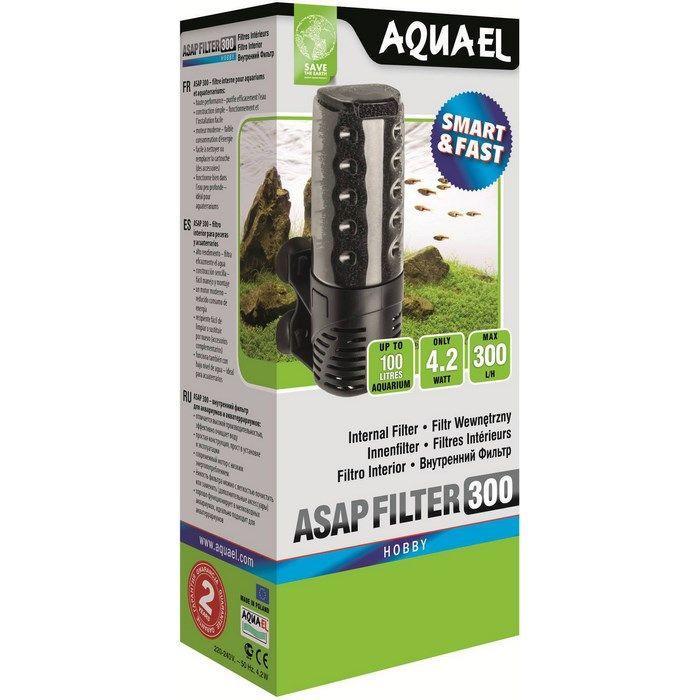 AquaEl ASAP Акваэль 300 Фильтр внутренний, 100 л