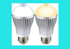 LED лампа с датчиком движения