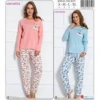 Женская пижама Vienetta Secret (корал)