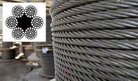 Канат (трос) стальной диаметр 29,0 мм ГОСТ  7668-80 от ГОСТ МЕТАЛЛ, фото 1