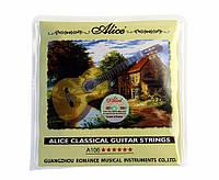 Нейлоновые струны для гитары цена Alice