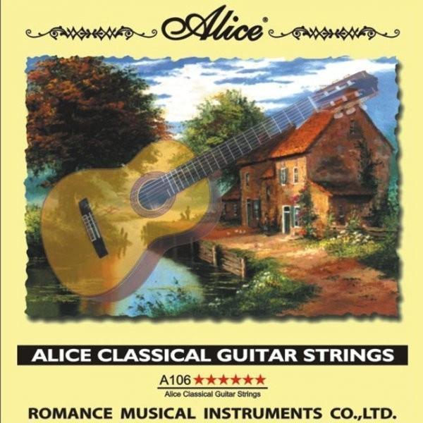 Нейлоновые струны для классической гитары Alice А106