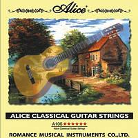 Купить струны для 6 струнной гитары Alice