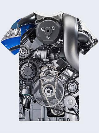 Футболка Двигатель Мерседеса, фото 2