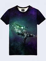 Футболка Киты в Космосе