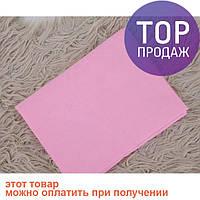 Простынь на резинке Розовинка / товары для детей