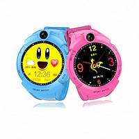 Новые детские часы Gps S02 Smart baby watch с встроеной камерой и фонариком