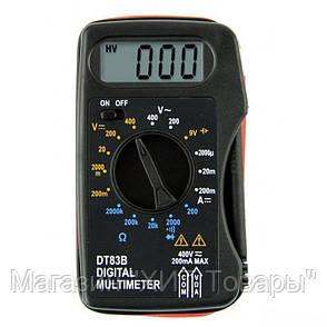 Мультиметр DT-83B,Компактный цифровой мультиметр,тест диодов!Опт, фото 2