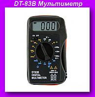 Мультиметр DT-83B,Компактный цифровой мультиметр,тест диодов