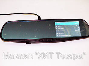 Зеркало заднего вида с видео регистратором DVR 138 Full HD, фото 2