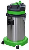 Профессиональный пылеводосос 1 турбинный 30л. для сухой и влажной уборки (с запасной фильтр-корзиной).
