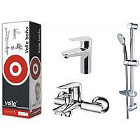 Комплект смесителей для ванны Volle NEMO (15141100+15142100+15146100+21*27*80 (V))