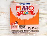 Фимо Кидс полимерная глина Fimo Kids 4, оранжевый. Германия.