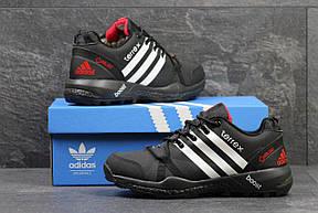 Кроссовки зимние Adidas Terrex черные с белым,на меху 46р, фото 2