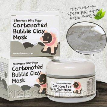 Elizavecca Маска для лица глиняно-пузырьковая Milky Piggy Carbonated Bubble Clay Mask