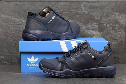 Кроссовки зимние AdidasTerrex синие,на меху 45р, фото 2