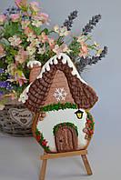 Пряник имбирно-медовый новогодний - Домик, фото 1