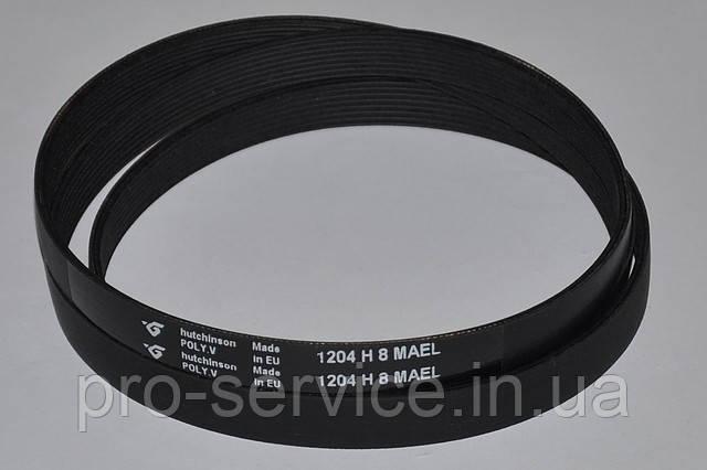 Ремень 1204 H8 MAEL 481235818167 для стиральных машин Whirlpool, Laden