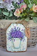 Пряник имбирно-медовый - лаванда, фото 1