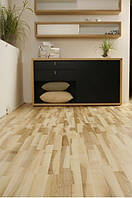 Паркетная доска Baltic Wood Ясень Mocca Ancient White (Cream & Clear) 3R 3-пол., браш, лак мат