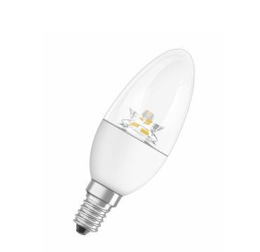 Лампа светодиодная LED SUPERSTAR CLASSIC B 25 ADV 4,5 W 827 E14 OSRAM диммируемая