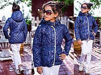 Стильная красивая детская курточка осенняя на замке