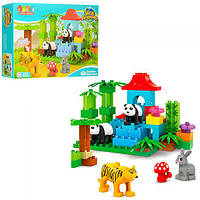 "Конструктор JDLT 5288 Wild Animals (аналог Lego Duplo) ""Зоопарк"""