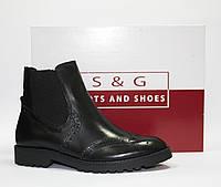 Женские ботинки челси S&G boots and shoes оригинал натуральная кожа 37