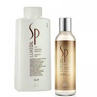 Кератиновый шампунь Wella SP Luxe Oil Keratin Protect
