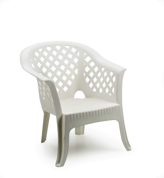 Кресло садовое Lario белое.Страна производитель Италия