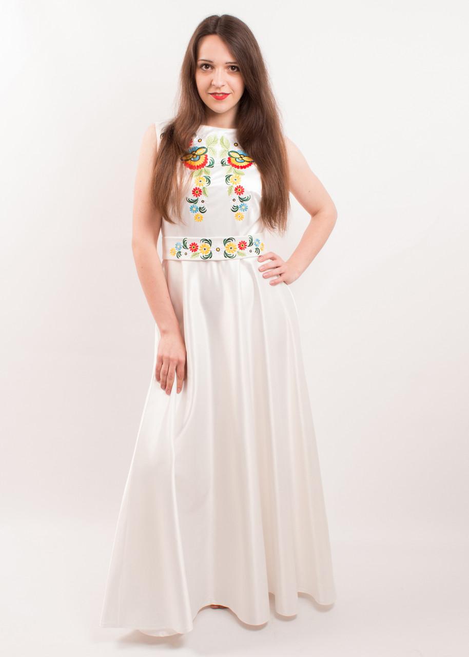 a0da8ece6ba8062 Женское вышитое платье