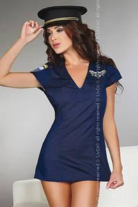 Ролевой костюм Argenta Livia Corsetti S, темно-синий