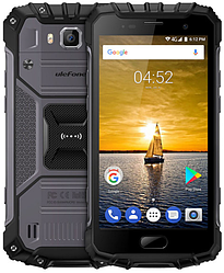 "UleFone Armor 2 gray IP68 6/64 Gb, 5"", MT6757T, 3G, 4G"