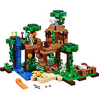 Lego Minecraft Домик на дереве в джунглях 21125 The Jungle Tree House