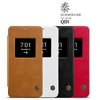 Кожаный чехол (книжка) Nillkin Qin Series для LG G6 / G6 Plus H870 / H870DS